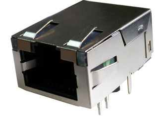 China L829-1J1T-D2 Low-Profile RJ45 Jack Conn Magjack 1Port 1000 Base-T Shielded supplier