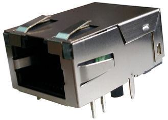 China 1-1368398-3 Low-Profile RJ45 Jack Gigabit 10/100/1000 With Magnetic 2-1368398-3 supplier