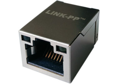 China LPJ19201BGNL Surface Mount 1x Rj45 Tab-Up W/ LEDs ,10/100Base-T Ethernet supplier