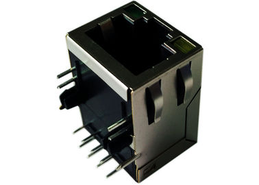China LPJ16264A28NL Cross 5-6605578-1 RJ45 Transformer 1 x 10/100 Mbit Ethernet supplier