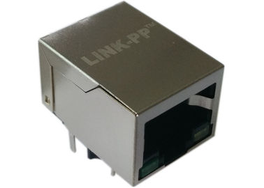 China LPJG0806FBNL 1x Gigabit RJ45 Modular Jack supplier