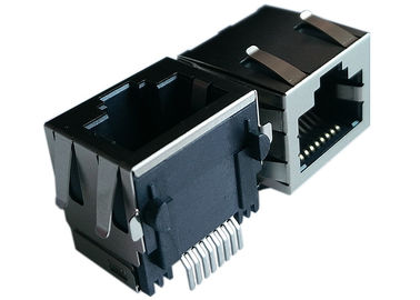 China LPJES101XCNL 1 x SMT RJ45 Modular Jack supplier