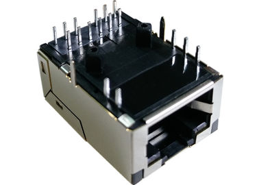 China LPJK7003B98NL Rj45 Low-Profile 11.3mm Hight 1x 10/100/1000Base-T Ethernet supplier