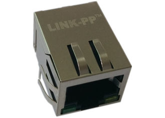 China Cross MIC3801D-5166 RJ45 With Integrated Magnetics LPJG0820G4NL supplier