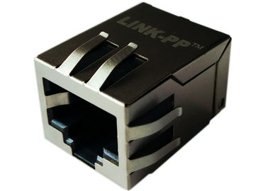 China J0C-0006NL / LPJ19111CNL SMT Modular Jack 10/100 Filter Integrated Rj45 supplier
