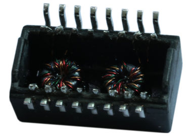 China XFRM SIN 100D 1:1 SMT  H1197NL Transformers Power over Ethernet Magnetic Modules supplier