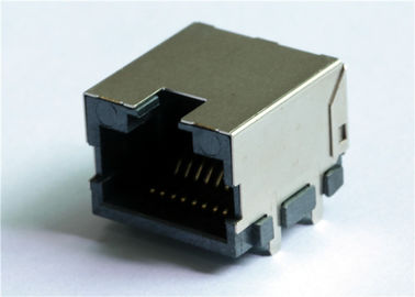 China 10.75mm Low-Profile RJ45 SMD Jack No LED LPJE4720DNL 8Position supplier