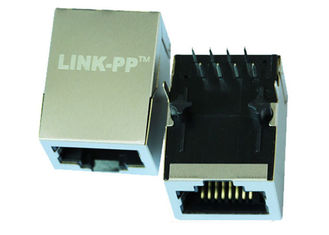 China ARJ11D-MDSD-A-B-ELT2 10/100M Rj45 Connector with integrated with Single Port Top Entry supplier