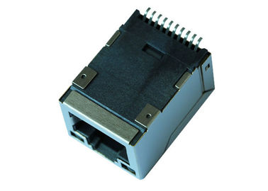 China 7498210220A Tab Up SMT RJ45 Connector With 10/100 Magnetic For PoE LPJ19962BFNL supplier