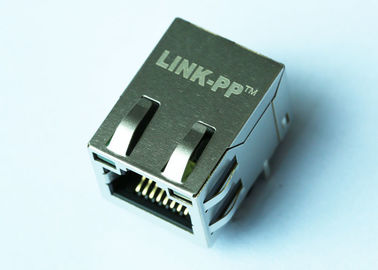 China 93769-8628 Ethernet RJ45 8p8c Modular Connector 1000M Magnetic LPJG16744A4NL supplier