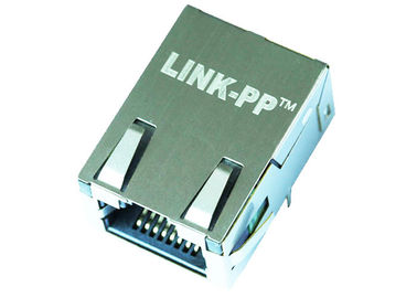 China 1368458-2 Low Profile Rj45 Connector 10/100 Base-T Magjack LPJK7004SA98NL supplier