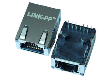 China HR911001C 10/100 Base-T Low-Profile RJ45 Jack With LEDS LPJK7008ALNL supplier