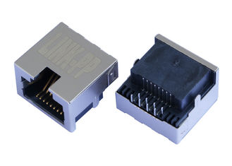 China 1-1FH01RS3 Single Port Low Profile RJ45 Connector  Without LED LPJE841DNL supplier