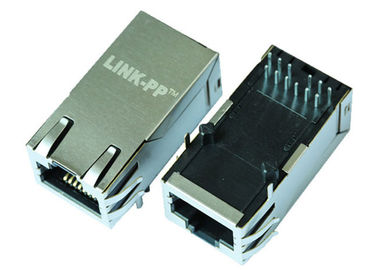 China 7499511002 Rj45 Gigabit Ethernet Socket IEEE802.3at With POE+ LPJK6069CNL supplier