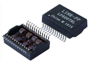 China 24HSS1041A2HF Ethernet Gigabit Transformer 10/100/1000 BASE - T Single Port SMT supplier