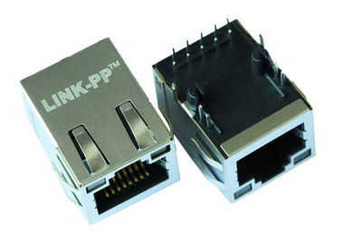 China 11H559-5115-00 Single Port RJ45 With Integrated Magnetics LPJG16520A28NL supplier