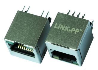 China KRJ-5224GYWKNL Vertical RJ45 Connector in Networking Without Magnetic LPJE681NENL supplier