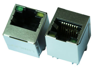 China JXD2-0015NL Vertical RJ45 Jack With 1000 Base-T Magnetic LPJD4622BDNL supplier