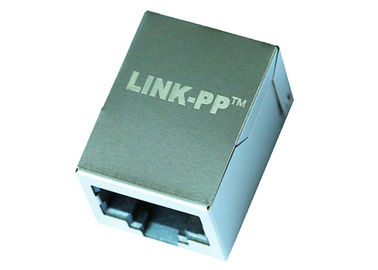China SS-640810S-A-NF Single Port RJ45 Connector With 10/100 Base-T Magnetic LPJE118DNL supplier