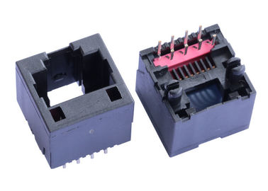China 90512-001LF Vertical Entry RJ45 Jack Without Magnetic Unshielded LPJE616NNL supplier