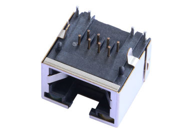 China RJE73-188-00110 Single Port Low Profile RJ45 Connector  Without Magnetic LPJE169BDNL supplier