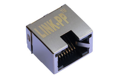 China 615008185121 Low-Profile RJ45 8P8C Shield 1Port With LED LPJE841-0BGNL supplier