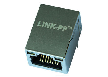 China RT7-ZZ-0061 Single Port Gigabit RJ45 Modular Jack Connector LPJG16308B153NL supplier