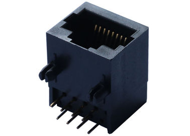 China 95501-2611 Unshielded 1X1 RJ45 Modular Jack Tab Down Without LEDs LPJE174NNL supplier