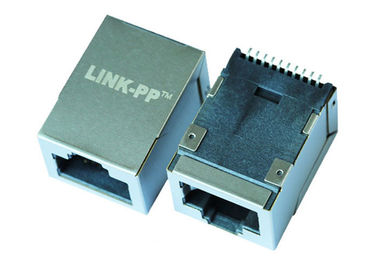 China JXD6-1100NL Surface Mount RJ45 Connector Tab - Up 10/100Base-T Ethernet LPJ19511DNL supplier