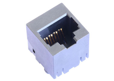 China CJ076621100 Vertical 8P8C RJ45 Female Connector Without Magnetic LPJE616NNL supplier