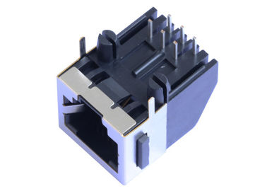 China 5556591-1 1x1 RJ45 Modular Jack Side Entry 8P8C Without Magnetic LPJEF110CNL supplier