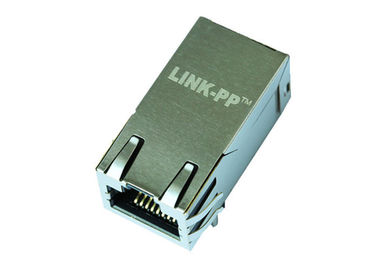 China 2250504-1 1x1 Port 2.5G BASE-T POE RJ45 Modular Jack With Transformer supplier