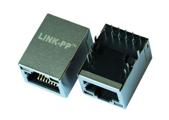 China ARJM11D7-805-AN-EW2 Single Port RJ45 Modular Jack W / Transformer 8p8c 2.5G supplier