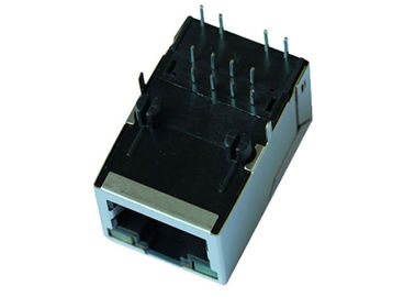 China ARJM11D7-809-AB-EW4 Single Port RJ45 Modular Jack W / Transformer 8p8c 2.5G supplier