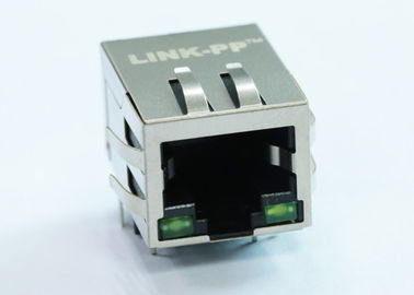 China ARJM11A3-805-JJ-CW4 RJ45 Single Port 1x 2.5G Mbps Ethernet Connector supplier