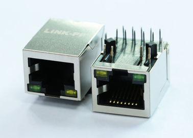 China ARJM11B3-809-AD-ER2-T RJ45 With Integrated Magnetics 2.5G BASE-TX Filtered Connector supplier