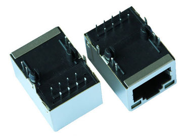 China ARJM11D7-805-KB-ER2-T / ARJM11D7-809-KB-ER2-T 2.5G Base-T LAN RJ45 Connector supplier