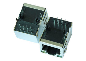 China ARJM11C7-811-JA-ER4-T Single Port RJ45 Modular Jack Shielded With 5G Base-T supplier