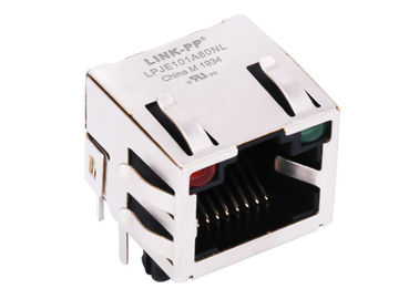 China RJHSE-5387-02 Unshielded THT 8P8C RJ45 Single Port Without Magnetics LPJE101A80NL supplier