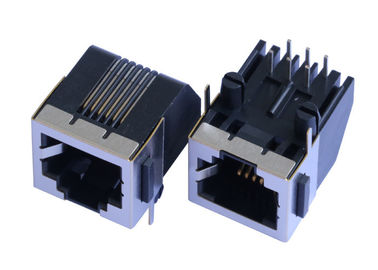 China 95009-7881 Single RJ45 Outlet Female Connector LPJE171-1NNL Without LEDs supplier