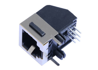 China 95009-7441 Single Port RJ45 Female Jack Unshielded THT Solder Pin Type LPJE1700NNL supplier