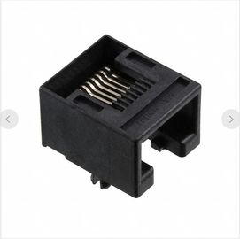 China 955012881 Unshielded Tab Down Cat3 8P8C Modular Connector Jacks LPJE180-3NNLF supplier