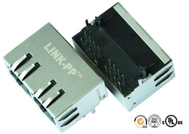 China LAN Controllers  RJ45 With Integrated Magnetics Through Hole 7499021220 supplier