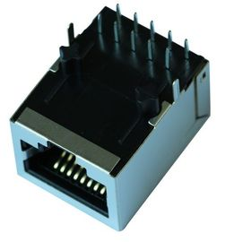 China 4400-LF1S LF1S022 RJ-45 WITH 10 BASE-T FILTER LPJ0022DNL Fiber media converters supplier