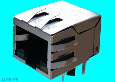 China JP-TS-10014-10 RJ45 With Integrated Magnetics 8pins 10/100Base-T LPJ0012GENL supplier