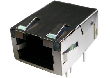 China L829-1B1T-43 Low-Profile RJ45 Jack 100 / 1000Base-T Integrated Filter Connector supplier