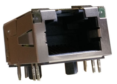 China 1840426-1 Mag45 Modular Jack 1840426-2 Gigabit Circuit Shieeded Tab Down supplier
