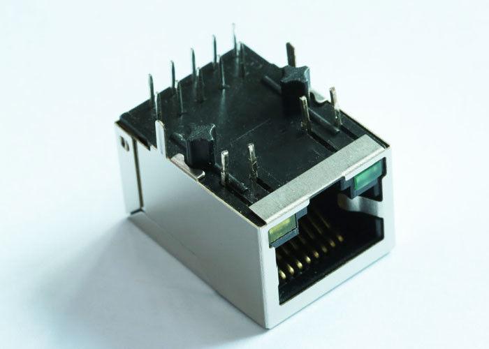 ARJM11B1-805-AD-CW4 RJ45 Single Port Modular Jack Shielded 2.5Gigabit Filter