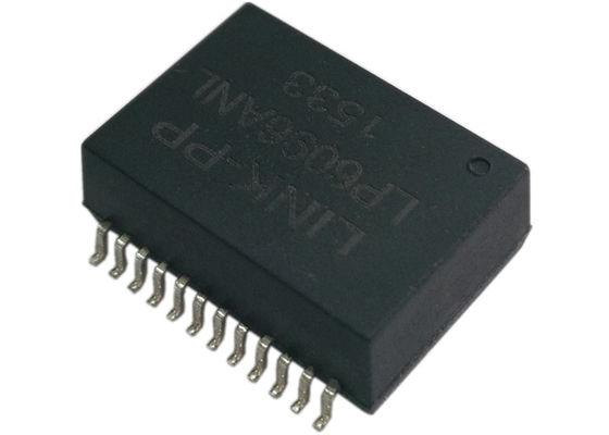 China Gigabit Ethernet Transformer POE / POE+ 802.3af , 802.3at 10/100/1000 LP6096ANL distributor