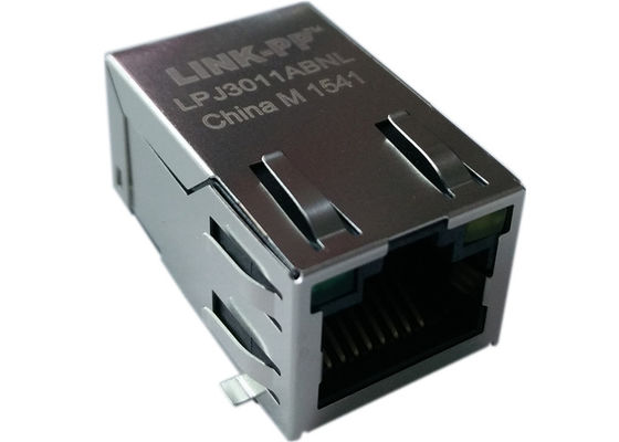 LINK-PP LPJ3007AANL Cross 74980111211 SMT RJ45 Connector 10/100Base-TX